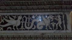 Detail - marble enclosure