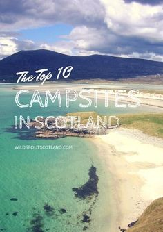 Scotland boasts some fantastic campsites among wonderful mountain and coastal scenery. Whether you like to camp in pine forests, stay right on the beach with amazing sunsets, prefer to experience … Camping Places, Beach Camping, Go Camping, Outdoor Camping, Camping Ideas, Camping Supplies, Camping Cabins, Camping Style, Luxury Camping