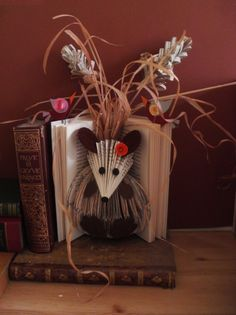 altered books By clara maffe I will be working on this all summer.