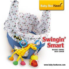 Swing in comfort and style on the playground while protecting from germs.