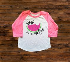 DISCOUNT code ANNABELLE15 on all Vazzie tees purchases   One in a Melon - Girls' Clothing - Raglan Shirts - Watermelon Shirts - Summertime shirts - ONE MELON by VazzieTees on Etsy https://www.etsy.com/listing/293891515/one-in-a-melon-girls-clothing-raglan