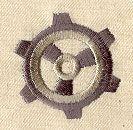 Basic Gear 1 design (UT4096) from UrbanThreads.com