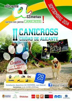 Este domingo 28 de septiembre de 2014, ASOKA estará presente en la II CaniCross Ciudad de Alicante, en San Gabriel, ¿te animas a venir?