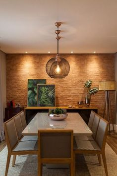 [New] The 10 Best Home Decor Today (with Pictures) Dining Table Design, Dining Decor, Home Room Design, Home Interior Design, Dinner Room, Light In, Dining Room Walls, Küchen Design, House Rooms