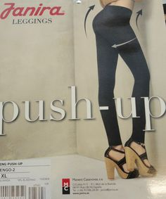 leggings push up ventre piatto snellente Janira grigio scuro tipo calzedonia