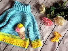 19 Ideas For Crochet Baby Girl Vest Kids Clothes - Kindermode Crochet Baby Clothes Boy, Baby Girl Crochet, Crochet For Boys, Crochet Baby Hats, Crochet Toys, Baby Girl Vest, Baby Boy Cardigan, Girls Sweaters, Baby Sweaters
