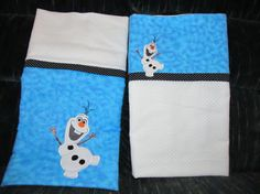 Frozen Pillowcase with OLAF on Etsy, $15.00