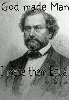 God mad man  Samuel Colt