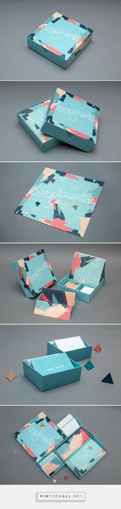 Komplimentas / board game by Regina Stonytė