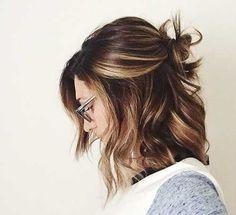 15+ Cute Buns for Short Hair | Short Hairstyles & Haircuts 2015