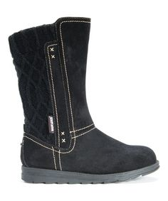 Loving this Black Stacy Boot on #zulily! #zulilyfinds