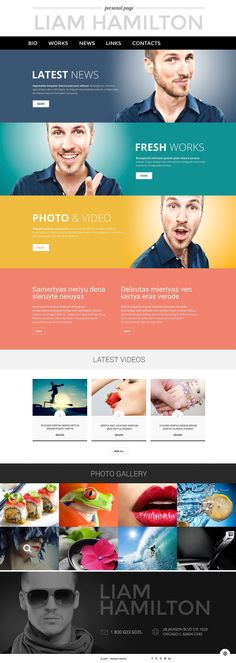If you would like to showcase your portfolio in the most effective way, consider this responsive Personal Page WordPress Theme powered by Cherry Framework. Thanks to integration of video files and ...