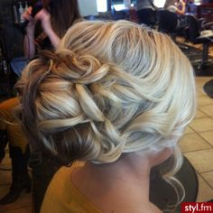 #updo #bridal #wedding