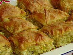 photo: Ξανθή Μπαξεβάνη Cookbook Recipes, Dessert Recipes, Cooking Recipes, Greek Recipes, Vegan Recipes, Food Network Recipes, Food Processor Recipes, The Kitchen Food Network, Cheese Pies