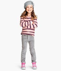 H&M Pantalon en velours côtelé 12,95 $