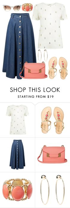 """""""Untitled #3122"""" by emmafazekas ❤ liked on Polyvore featuring Oasis, Lilly Pulitzer, Sophie Hulme, Bebe and Gucci"""