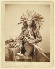 """Little,"" the instigator of Indian Revolt at Pine Ridge"