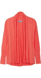 Alice + Olivia Hailey fine-knit cardigan