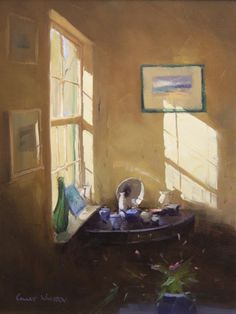 Colley Whisson A Sunlit Morning
