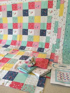 Little Mermaid Quilt Kit by kateyedesign on Etsy