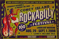 Rockabilly festival poster
