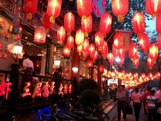 Ghost Street, Beijing - local spot home to more than 200 restaurants and shops
