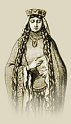 Picture of Matilda of Flanders William the Conqueror's wife