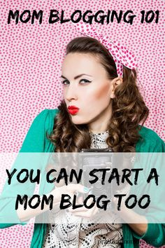 Mom Blogging 101: Learn How To Blog. Yes you can start a blog too! Click here to find out how.