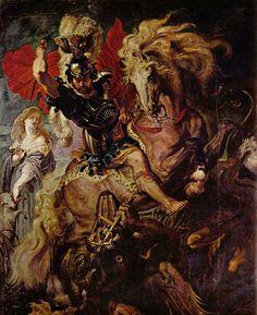 Peter Paul Rubens - Saint George and the Dragon (1610)