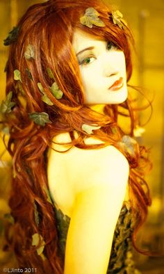 Poison Ivy. Would love to do this as a costume
