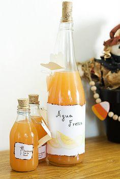 Cantaloupe Agua Fresca, gorgeous and refreshing