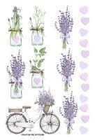 FabScraps Lavendar Breeze Stickers - Lavender Lifestyle