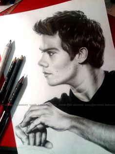Dylan O'Brien - art