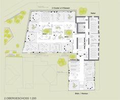 BG/BRG sillgasse Atrium, Cluster, Competition, Diagram, Caramel, School, Education, Culture, Projects