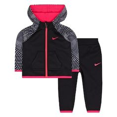 cf0fefcf4d Baby Girl Nike Therma-FIT Hoodie & Jogger Pants Set Toddler Nike Outfits,  Toddler