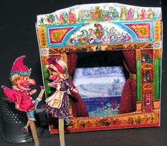 Kit to make mini toy theatre $4.25