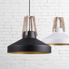 Industrial Shallow Pendant Light