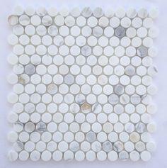 onyx penny tiles - Google Search