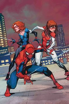 Amazing Spider-Man: Renew Your Vows Vol. Are You Okay, Annie? (Amazing Spider-Man: Renew Your Vows Marvel Girls, Marvel Vs, Marvel Dc Comics, Marvel Heroes, Amazing Spiderman, Spiderman Art, Spiderman Poses, Spider Girl, Spider Man 2