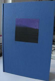 Diario con aplique de obra. Polaroid Film, Letters, Diaries, Report Cards, Letter, Calligraphy