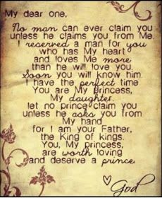 "A Godly Marriage in an Ungodly World: ""You, my princess, are worth loving"""