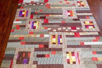 "Quilters...Enjoy Color!: Setting Odd Blocks with 2 1/2"" Strips"