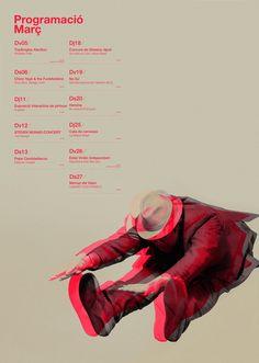 gravat poster by quim marin
