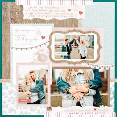 Bring Your Love to Life with Ever After Wedding Scrapbook Papers The Ever After Paper Pack is the perfect backdrop for all your wedding layouts. Learn more about how to use this gorgeous wedding scrapbook paper. Couple Scrapbook, Wedding Scrapbook Pages, Bridal Shower Scrapbook, Paper Bag Scrapbook, Birthday Scrapbook, Travel Scrapbook, Scrapbook Supplies, Scrapbooking Layouts, Scrapbook Sketches