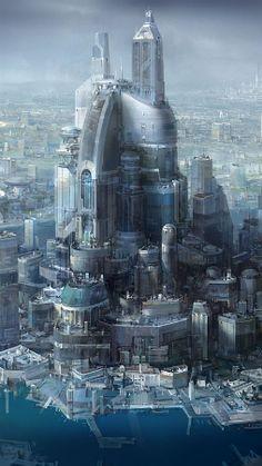 New futuristic world