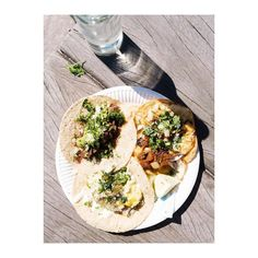 Lingua fish skin and huevo ranchero -- perfect little snack at @hijadesanchez by alice_gao instagramers I like