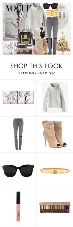 """""""COZY X WINTER"""" by kueenly ❤ liked on Polyvore featuring Anaïs, PTM Images, Raquel Allegra, Frame, Burberry, STELLA McCARTNEY, Fendi, Cartier, NARS Cosmetics and Urban Decay"""