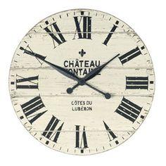 Thomas Kent Chateau Fontaine Clock - 20 inch #shabbychic #vintage #clock