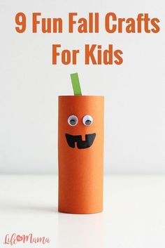 There are so many fun and cute crafts surrounding the fall theme and we've rounded up 9 of the best. Check out these fun and easy fall crafts for your kids to do this upcoming season.
