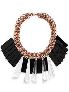 Tuxedo Necklace, ultimate favorite necklace @BaubleBar